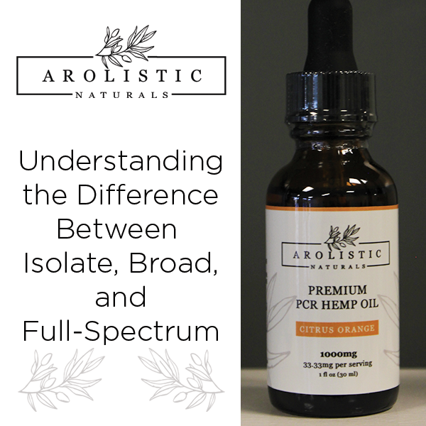Understanding the Difference Between Isolate, Broad, and Full-Spectrum - Arolistic Naturals
