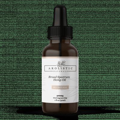 All Natural Broad Spectrum CBD Tincture 500 mg