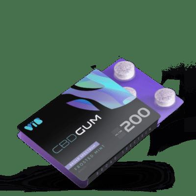 CBD Gum 25mg Broad Spectrum