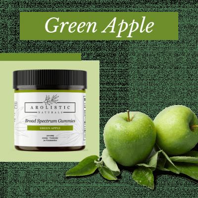 Broad Spectrum Hemp Gummies - Green Apple Image